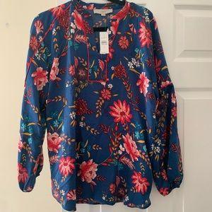 LOFT winter blouse